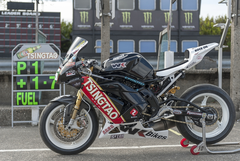 CF Motors 2013 Isle of Man TT race bike
