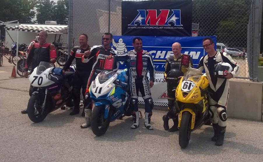 ASRA Team Challenge Road America 2015 podium