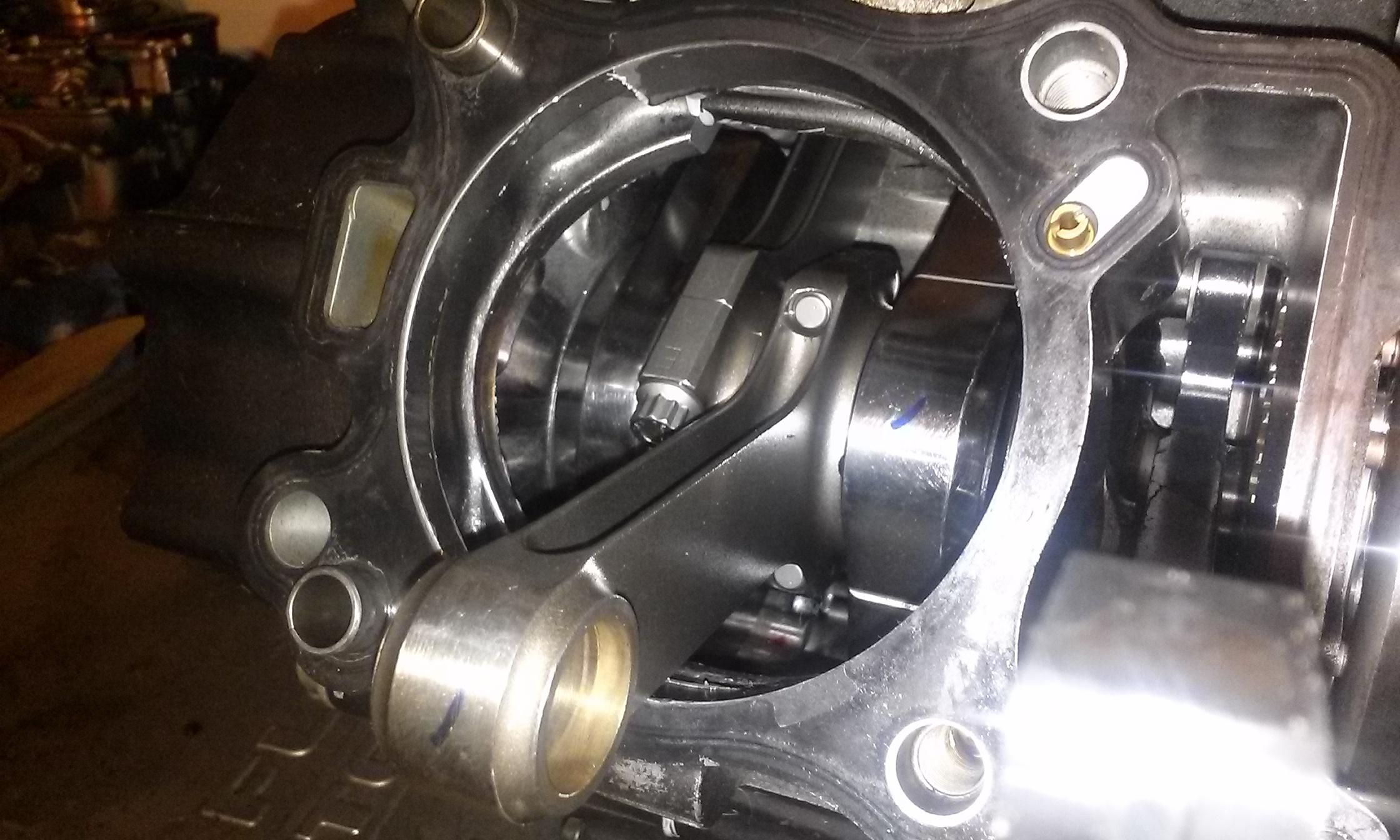 SV650 h beam falicon crank