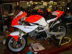 1st Generation SV650 Racer